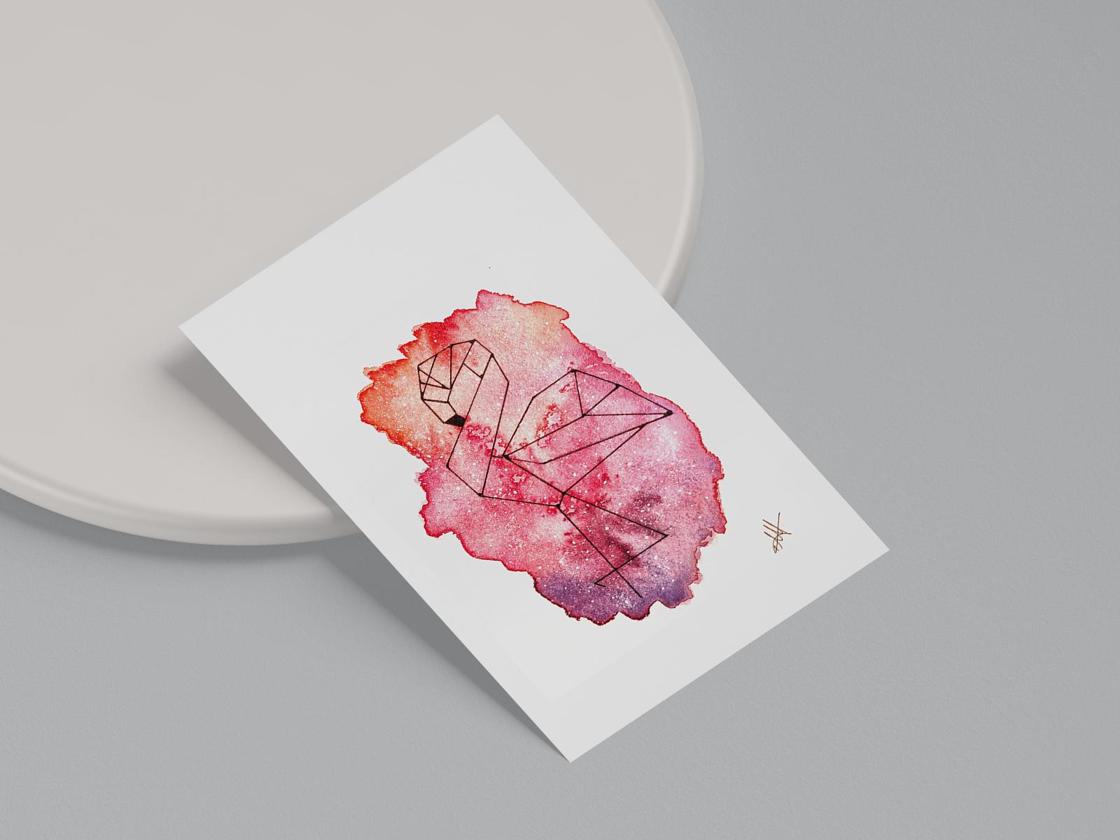 Stardust Flamingo