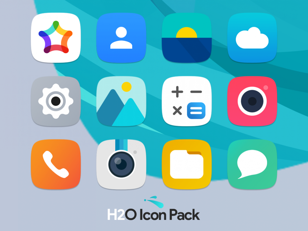 H2O Icon Pack