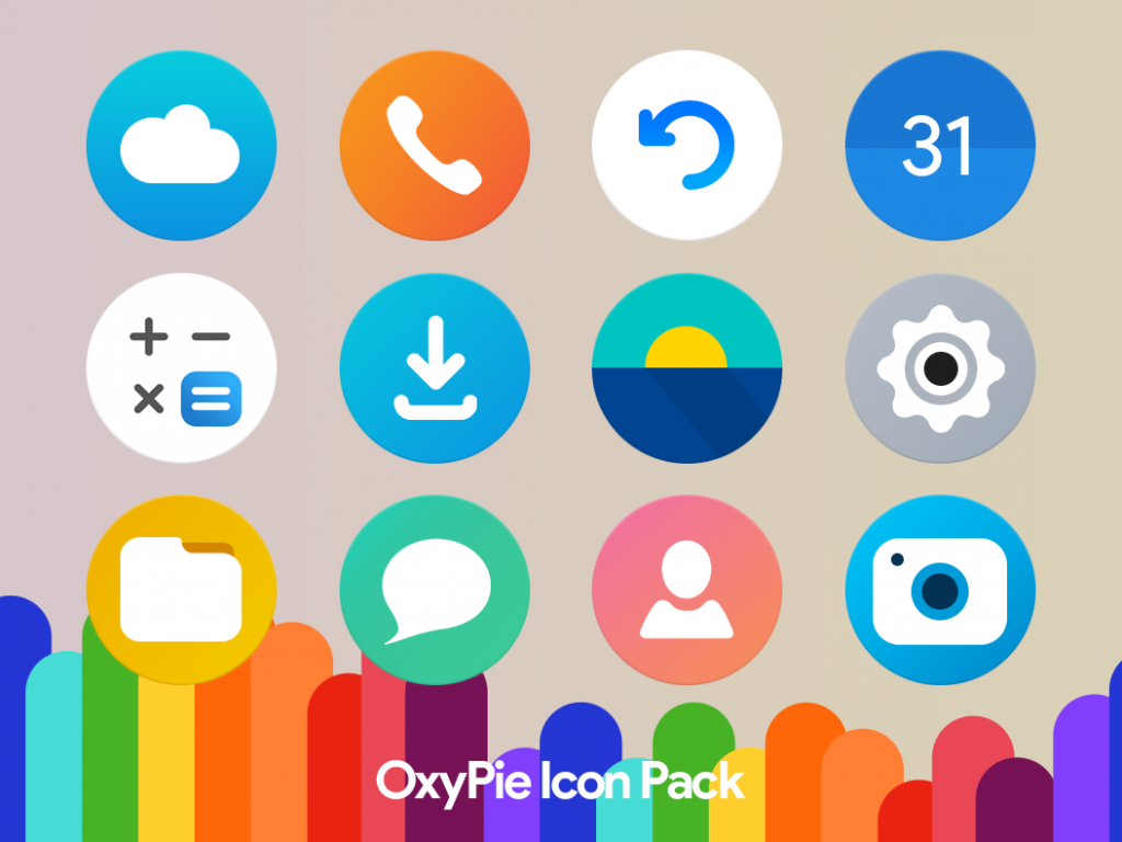 OxyPie Icon Pack